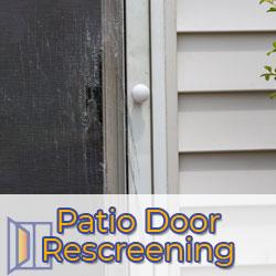 patio rescreening